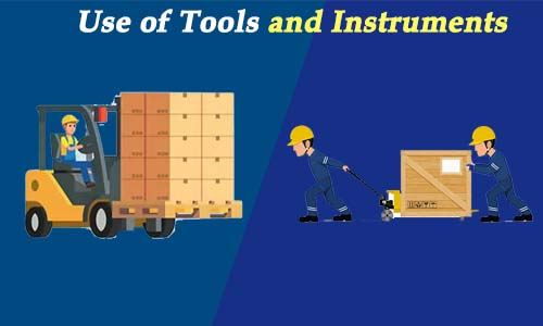 Us of Tools and Instruments